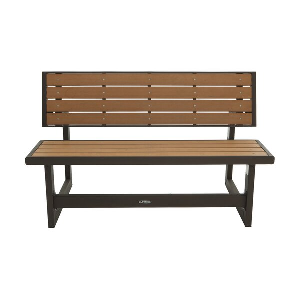 Convertible Wood Park Bench by Lifetime