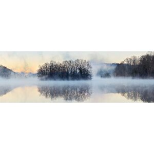 'Scene on the Water VIII' Photographic Print on Canvas by East Urban Home