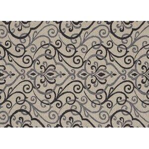 Perfect Francesca Hand Hooked Ivory/Gray Indoor/Outdoor Area Rug