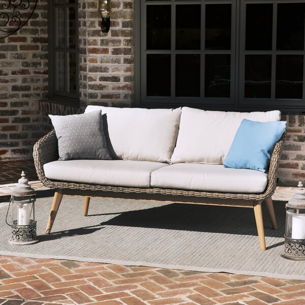 Bacchus Loveseat with Cushions by Langley Street