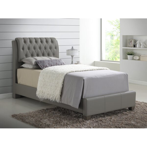 Towslee Upholstered Standard Bed by Winston Porter