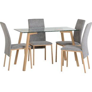 Merveilleux Reba Dining Table And 4 Chairs