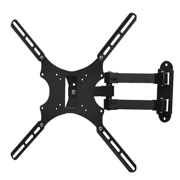 Tilt and Swivel Articulating TV Wall Mount Bracket for 19-46 Flat Panel Screens by Bentley Mounts