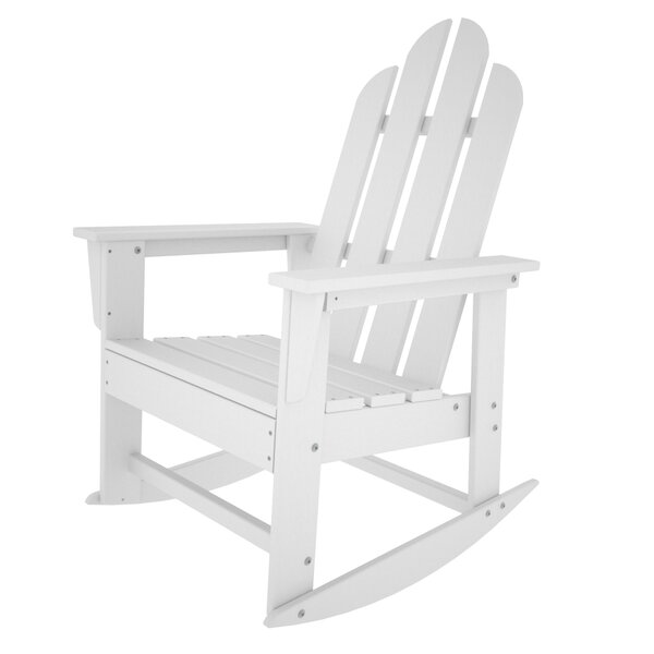 Long Island Plastic Rocking Adirondack Chair by POLYWOOD®