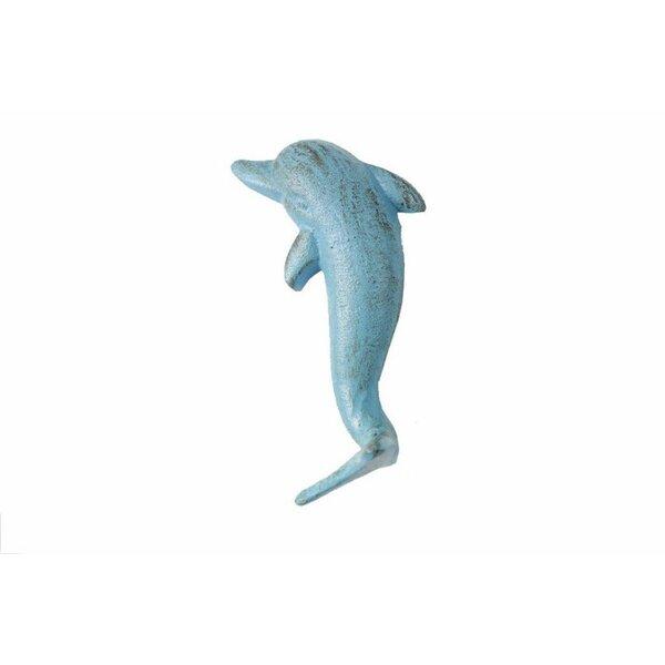 Slye Cast Iron Dolphin Wall Hook by Bay Isle Home