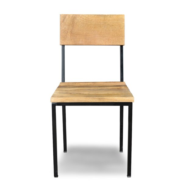 Millie Solid Wood Dining Chair (Set Of 2) By Millwood Pines by Millwood Pines New