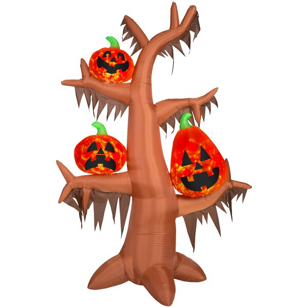 Projection Kaleidoscope Scary Tree LG (RRY) Inflatable by The Holiday Aisle