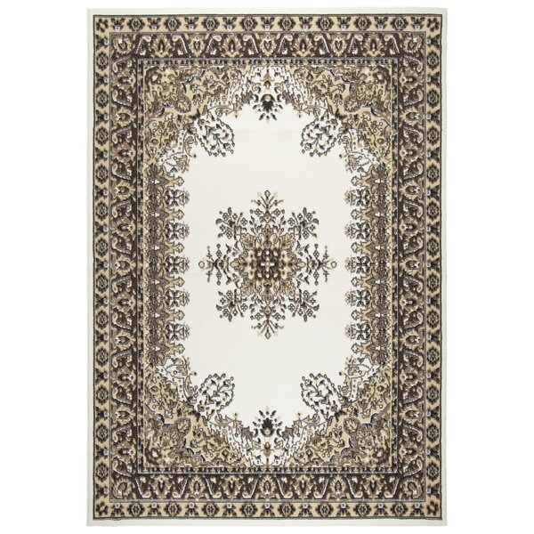 Burrell Ivory Area Rug by Charlton Home