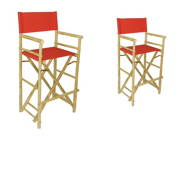 Phat Tommy Folding Director Chair (Set of 2) by Buyers Choice