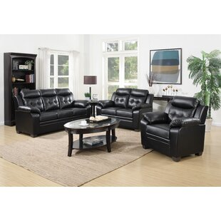 Pranay 3 Piece Living Room Set by Red Barrel Studio®