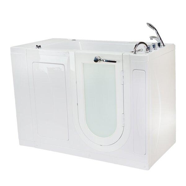 Malibu Air and Hydro Massage 30 x 52 Walk in Air/Whirlpool Bathtub by Ella Walk In Baths