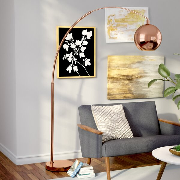 Kailey 77 LED Arched Floor Lamp by Corrigan Studio