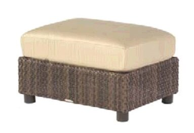 Aruba Ottoman with Cushion by Woodard