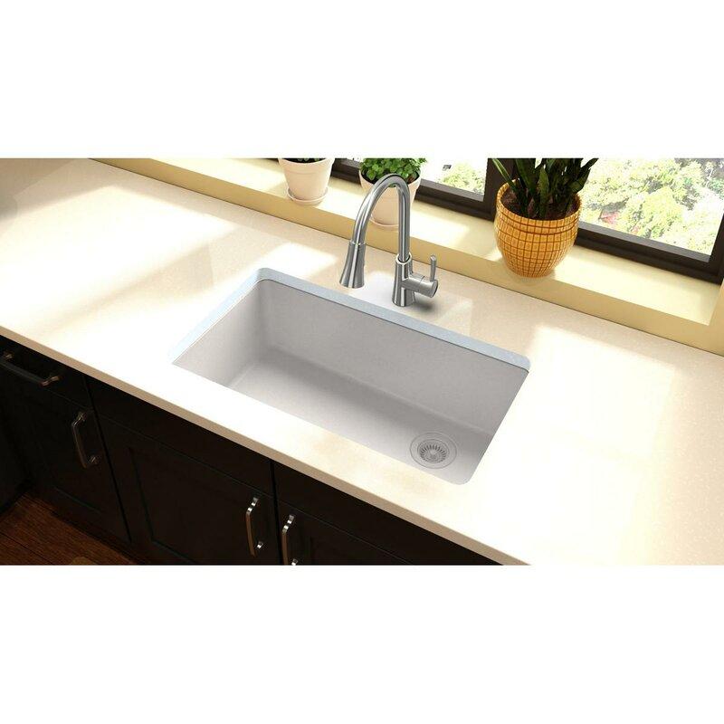 Elkay quartz classic 33 x 19 undermount kitchen sink reviews quartz classic 33 x 19 undermount kitchen sink workwithnaturefo
