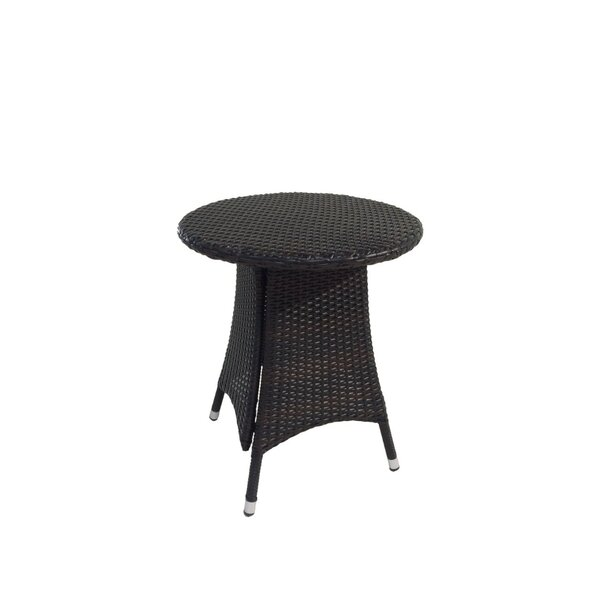 Diamond Outdoor Wicker Bistro Table by Benasse