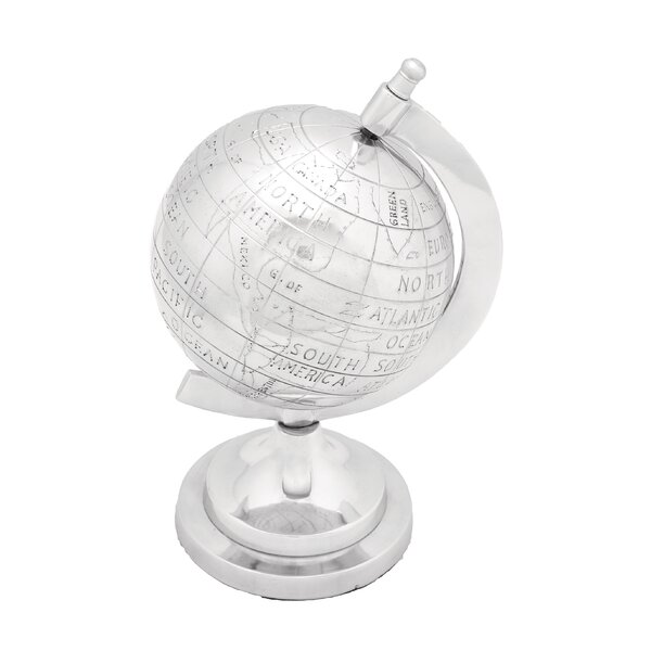 Aluminum Decor Globe by Cole & Grey