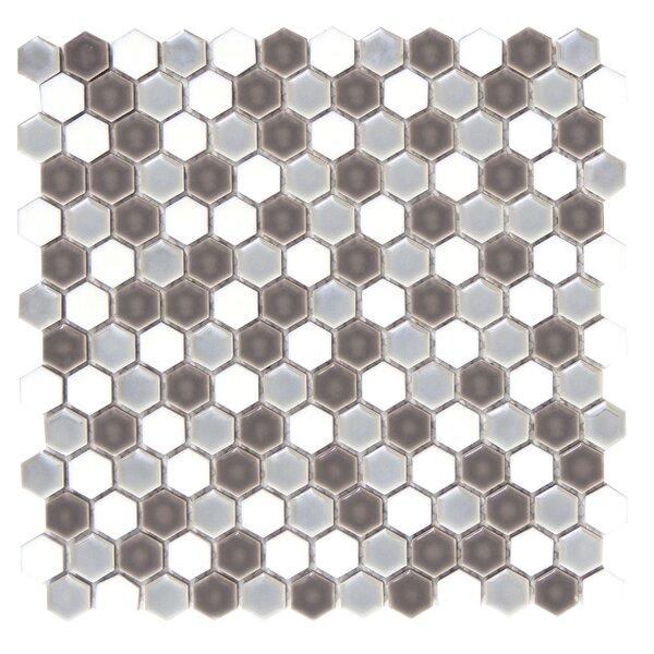 Confetti Porcelain Mosaic Tile in Freddo by Emser Tile