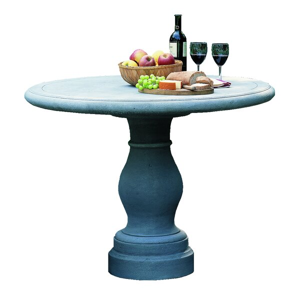 Palladio Cast Stone Bistro Table by Campania International