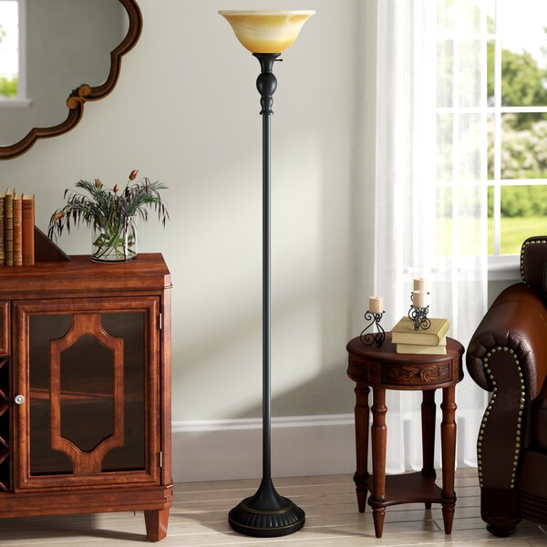 Arbor Oaks 71 Torchiere Floor Lamp by Fleur De Lis