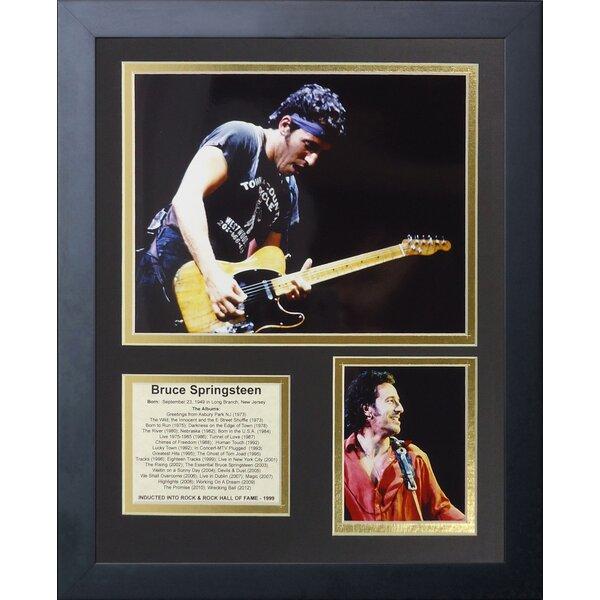Bruce Springsteen Framed Memorabilia by Legends Never Die