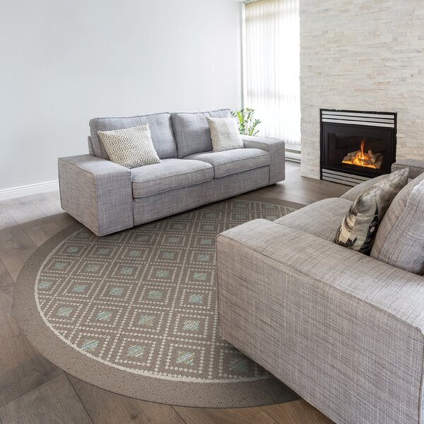 Billings Brown Indoor/Outdoor Area Rug by Wrought Studio