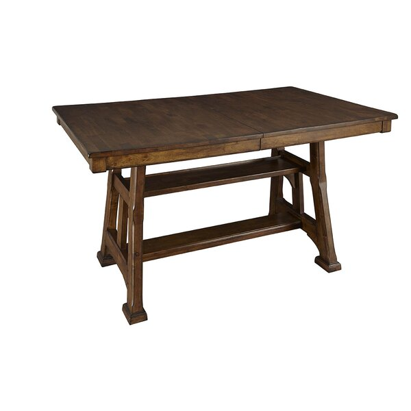 Hayashi Counter Height Extendable Dining Table by Loon Peak