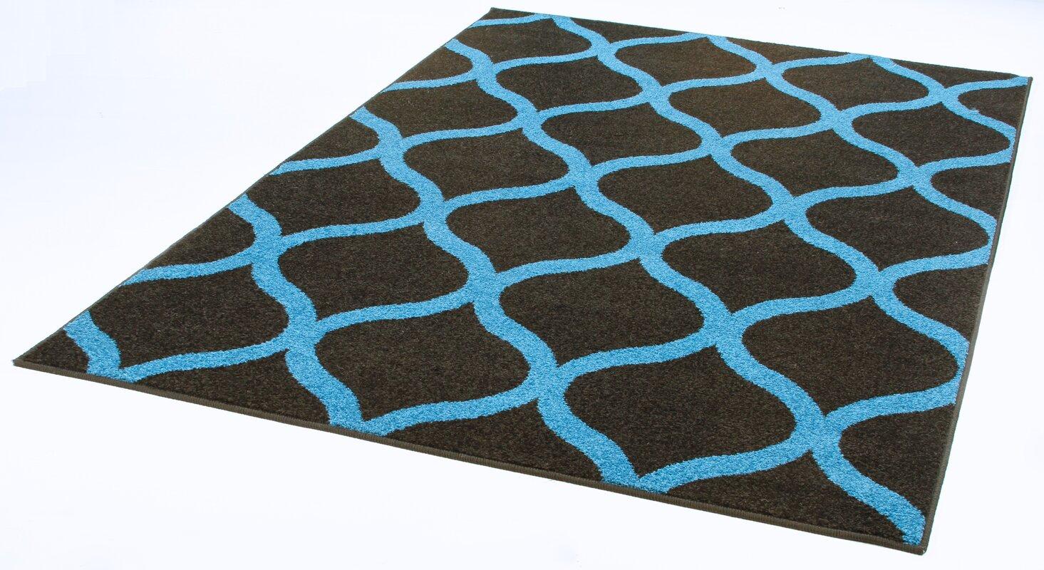 longweave teppich mcclendon in schwarz blau bewertungen. Black Bedroom Furniture Sets. Home Design Ideas