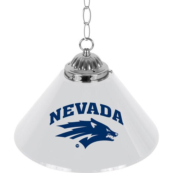 NCAA 1-Light Pool Table Lights Pendant by Trademark Global
