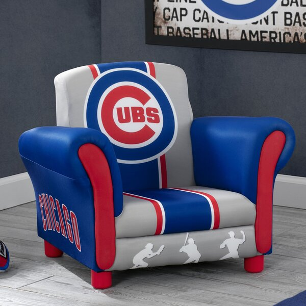 MLB Chicago Cubs Kids Chair by Delta Children
