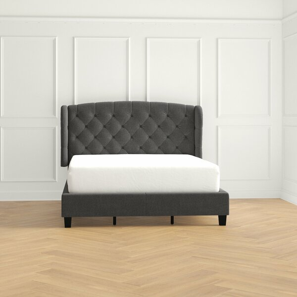 Stanardsville Upholstered Standard Bed by Three Posts