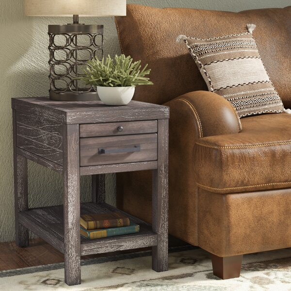 Portville End Table by Loon Peak