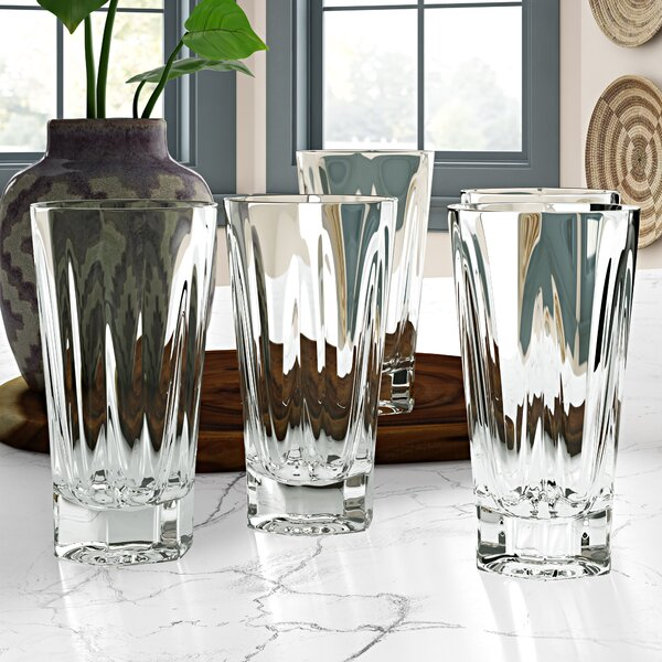 Mcardle 19 oz. Plastic Drinking Glass (Set of 6) by Ebern Designs