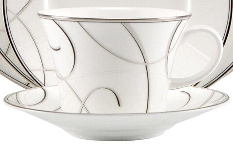 Elegant Swirl 5.5 Saucer by Nikko Ceramics