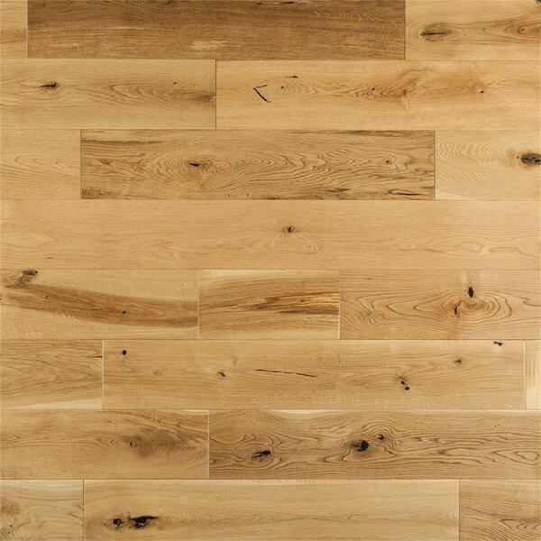 Corinne French 6 Solid Oak Hardwood Flooring in Natural by Welles Hardwood