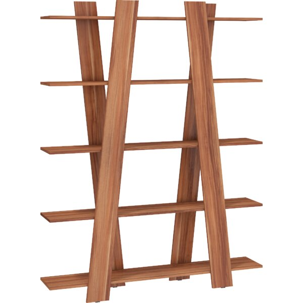 Riaria Ladder Bookcase by Millwood Pines