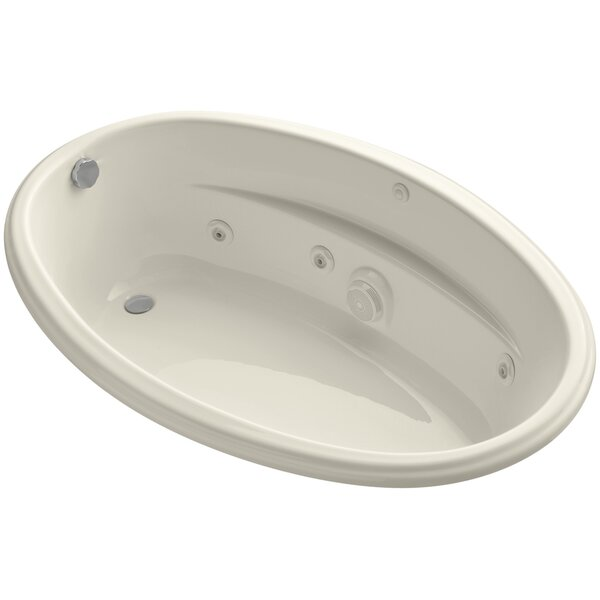 60 x 40 Drop-In Whirlpool with Custom Pump Location by Kohler