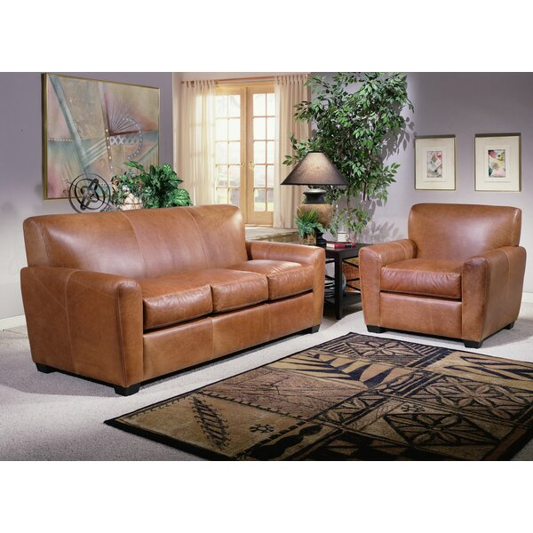 Jackson Leather Configurable Living Room Set by Omnia Leather