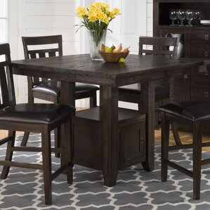 Cadwallader Pub Table with Storage Base by Darby Home Co