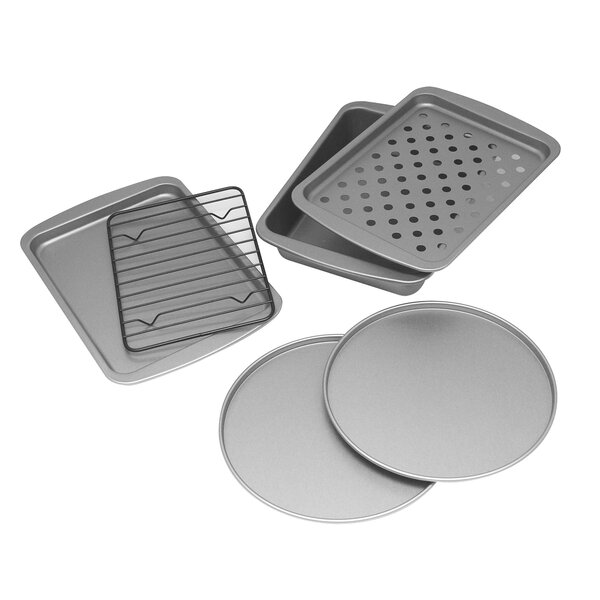 6 Piece Non-Stick Personal Bake Pan Set by OvenStuff