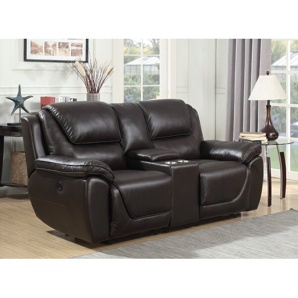 Rish Leather Reclining Loveseat