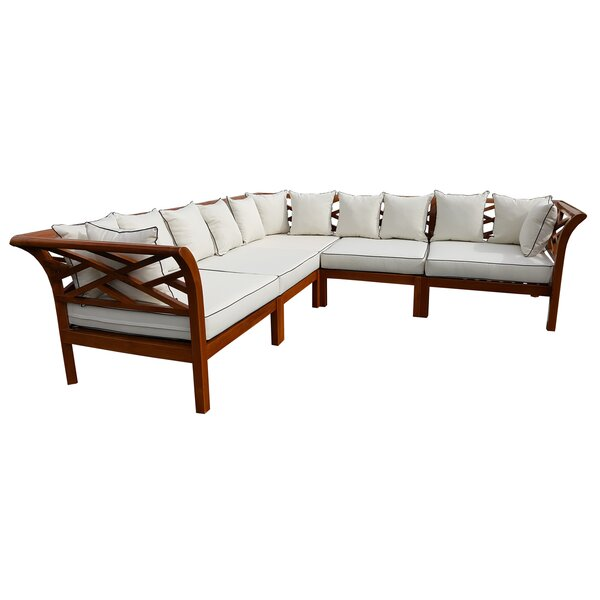 Long Island Right Hand Facing Modular Sectional by Chic Teak