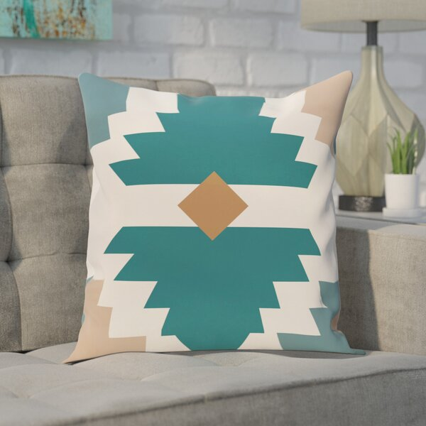 Conley Geometric Print OutdoorThrow Pillow by Ivy Bronx