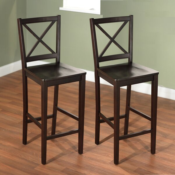 Chalkhill 30 Bar Stool (Set of 2) by Darby Home CoChalkhill 30 Bar Stool (Set of 2) by Darby Home Co