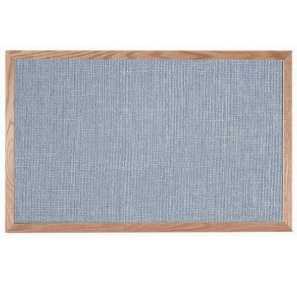 Designer Fabric Wall Mounted Bulletin Board by AAR