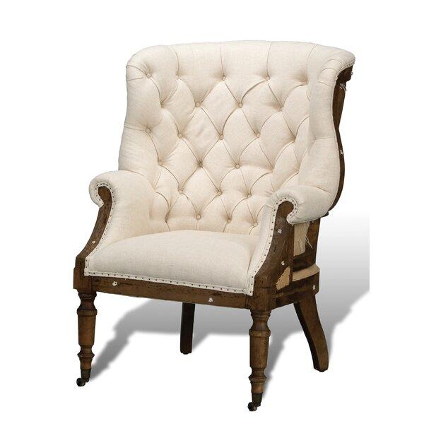 Sasha Wingback Chair by Rosalind Wheeler Rosalind Wheeler