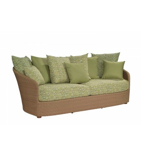 Oasis Patio Sofa with Cushions by Woodard
