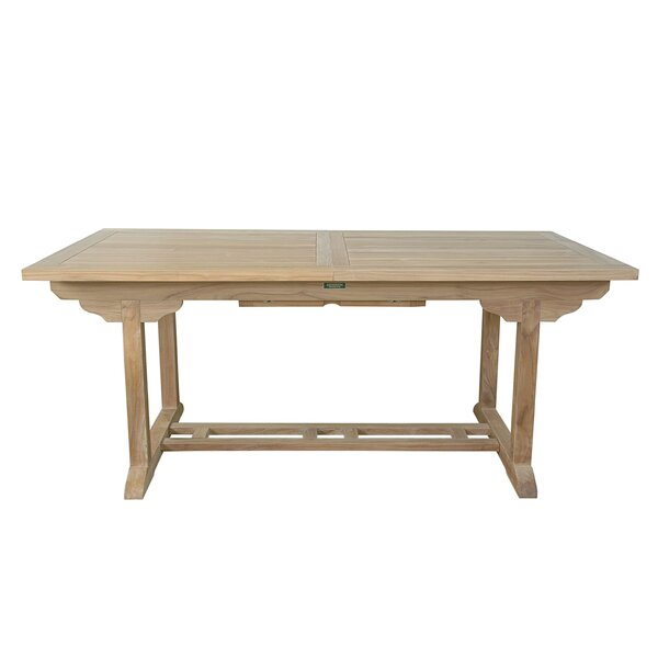Farnam Solid Wood Dining Table By Rosecliff Heights by Rosecliff Heights 2020 Sale