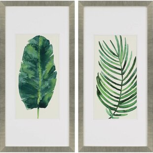 Palm Leaf U0026 Palm Tree Wall Art Youu0027ll Love   Wayfair