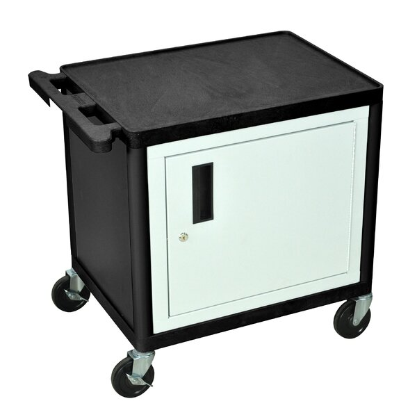 LP Series AV Cart with Locking Table by Luxor