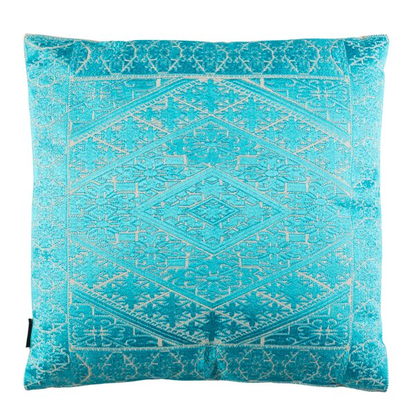Poitra Embroidered Throw Pillow by Bungalow Rose